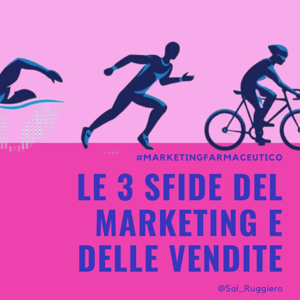 Le tre sfide del marketing e delle vendite